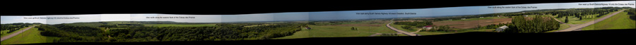 Panorama from flank
