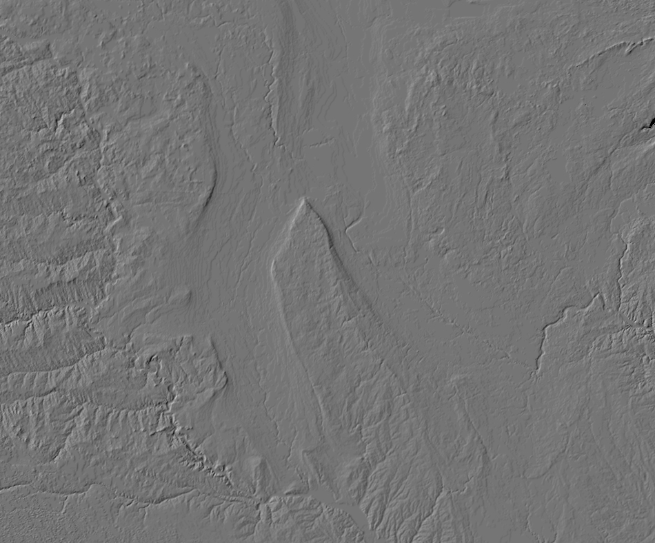 Shaded relief image