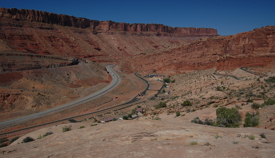 View from Arches National Park